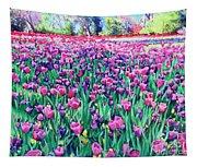 Dallas Tulips Tapestry