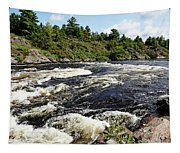 Dalles Rapids French River II Tapestry