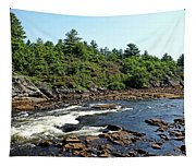 Dalles Rapids French River Ontario Tapestry