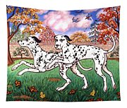 Dalmatians Two Tapestry