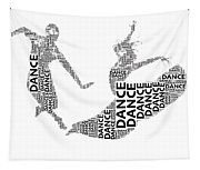 Dance Beauty Tapestry