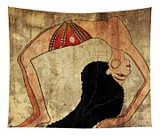 dancer of Ancient Egypt Tapestry