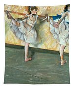 Dancers At The Bar Tapestry