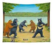 Dancing Bears Tapestry
