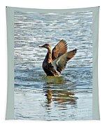 Dancing Duck Tapestry