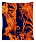 Dancing Fire I Tapestry