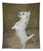 Dancing Puppy Tapestry