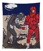 Danger In Deep Space Tapestry