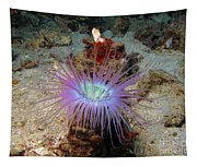 Dangerous Underwater Flower Tapestry