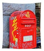 Danish Mailbox Tapestry