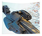 Dante In Meridian Hill Park Tapestry