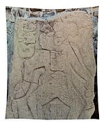 Danzantes Stone Carving Tapestry