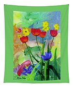Daria's Flowers Tapestry