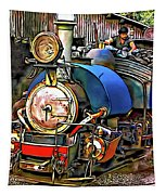 Darjeeling Toy Train Tapestry