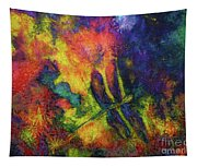 Darling Darker Dragonfly Tapestry