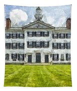 Dartmouth College Hanover New Hampshire Pencil Tapestry