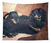 Daschounds Tapestry