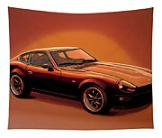 Datsun 240z 1970 Painting Tapestry