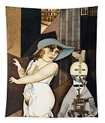 Daum Marries Her Pedantic Automaton George Tapestry