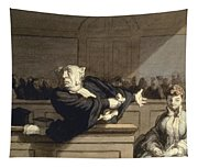 Daumier: Advocate, 1860 Tapestry