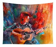 David Bowie In Space Oddity Tapestry
