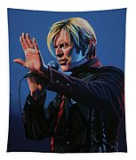 David Bowie Live Painting Tapestry