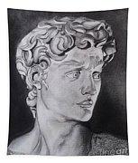 David In Pencil Tapestry