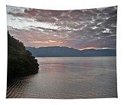 Dawn At Casa De Mundo Lake Atitlan 1 Tapestry