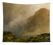 Dawn At Fogo Crater Tapestry