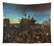 Dawn At The Alamo Tapestry