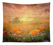 Dawn Blessings On The Farm Tapestry