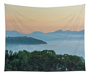 Dawn In The Smokies Tapestry