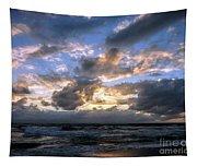 Dawn Of A New Day Treasure Coast Florida Seascape Sunrise 138 Tapestry