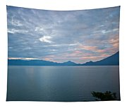 Dawn Over The Volcano 5 Tapestry