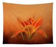 Day Lily Emerging Tapestry