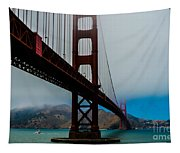 Daybreak At The Golden Gate Tapestry