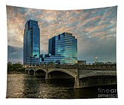 Days End In Grand Rapids Tapestry