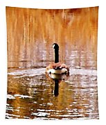 An Idyllic Day's End Tapestry
