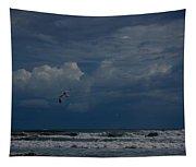 Daytona Beach Kind Of Day Tapestry