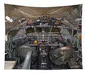 De Havilland Dh106 Comet 4 G Apdb Cockpit Full Size Poster Tapestry
