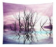 Dead Trees Colored Version Tapestry