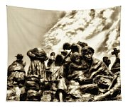Death In The Time Of The Irish Famine Tapestry
