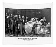 Death Of President Lincoln Tapestry