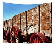 Death Valley Borax Wagons Tapestry