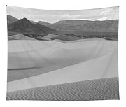 Death Valley Panoramic Sand Dunes Tapestry