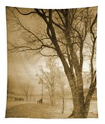 December Glow Tapestry