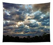 Deceptive Clouds Tapestry