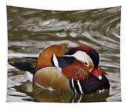 Decorated Duck Tapestry