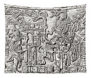 Decorative Lintel From The Ancient Tapestry