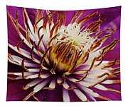 Deep Purple Clematis Tapestry